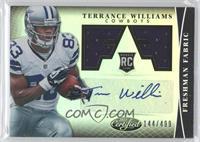 Freshman Fabric Signatures - Terrance Williams /499