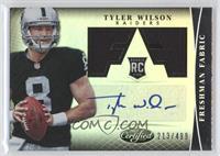 Freshman Fabric Signatures - Tyler Wilson /499