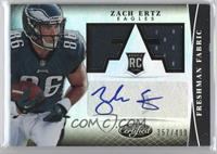 Freshman Fabric Signatures - Zach Ertz /499