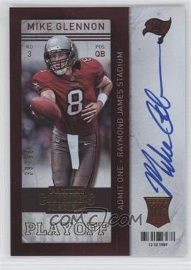 2013 Panini Contenders - [Base] - Short Print Rookies Playoff Ticket #228 - Mike Glennon /99