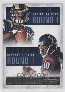 2013 Panini Contenders - Round Numbers #3 - DeAndre Hopkins, Tavon Austin