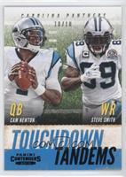 Cam Newton, Steve Smith /10