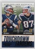 Rob Gronkowski, Tom Brady /10