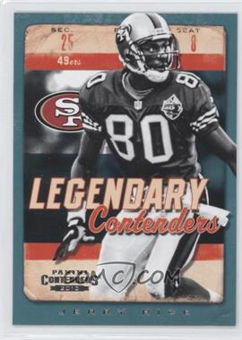 2013 Panini Contenders Legendary Contenders #1-JR - Jerry Rice