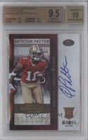 Quinton Patton /99 [BGS 9.5]