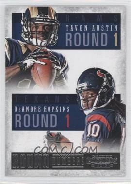2013 Panini Contenders Round Numbers #3 - DeAndre Hopkins, Tavon Austin