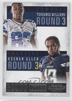 Keenan Allen, Terrance Williams
