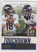 Eric Decker, Peyton Manning /99