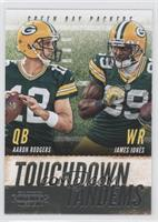Aaron Rodgers, James Jones