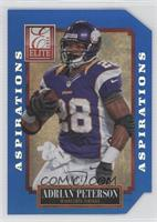 Adrian Peterson (uncorrected error: no number, should be 57) /72