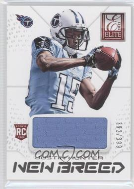 2013 Panini Elite New Breed #14 - Justin Hunter /399