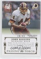 Alfred Morris, John Riggins /49