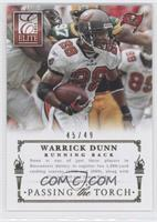 Warrick Dunn, Doug Martin /49