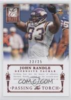 Jared Allen, John Randle /25
