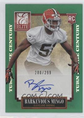 2013 Panini Elite Turn of the Century Rookie Signatures [Autographed] #108 - Barkevious Mingo /299