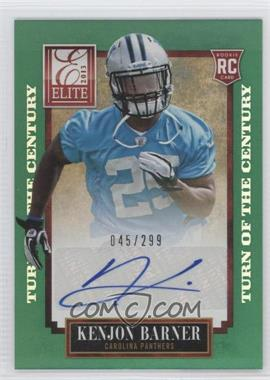 2013 Panini Elite Turn of the Century Rookie Signatures [Autographed] #150 - Kenjon Barner /299