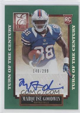 2013 Panini Elite Turn of the Century Rookie Signatures [Autographed] #166 - Marquise Goodwin /299