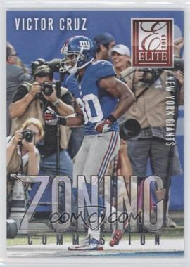 2013 Panini Elite Zoning Commission Silver #18 - Victor Cruz
