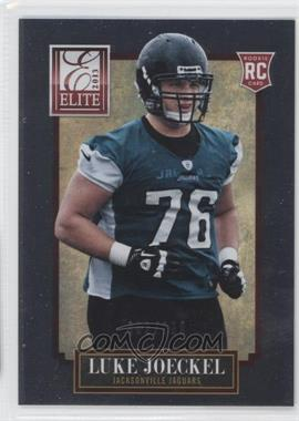2013 Panini Elite #158 - Luke Joeckel /999