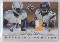Adrian Peterson, Chris Johnson /25