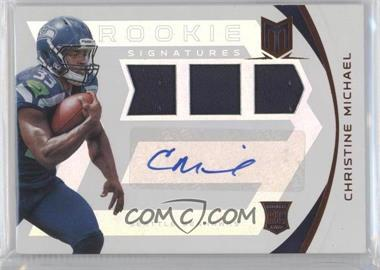 2013 Panini Momentum - [Base] - Rookie Signatures [Autographed] #203 - Christine Michael /199
