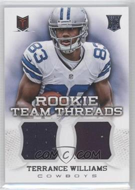 2013 Panini Momentum Rookie Team Threads Combo Materials #12 - Terrance Williams /399