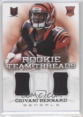 2013 Panini Momentum Rookie Team Threads Triple Materials #6 - Giovani Bernard /299