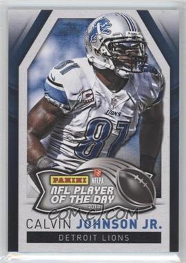 2013 Panini NFL Player of the Day - [Base] #4 - Calvin Johnson