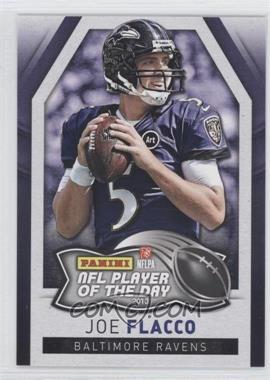 2013 Panini NFL Player of the Day - [Base] #8 - Joe Flacco