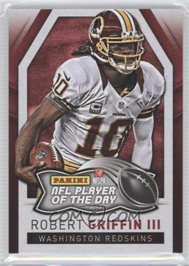 2013 Panini NFL Player of the Day - [Base] #9 - Robert Griffin III