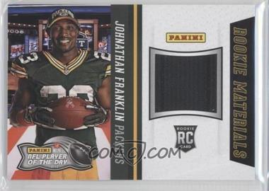 2013 Panini NFL Player of the Day Rookie Materials #1 - Johnathan Franklin