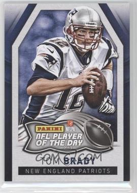 2013 Panini NFL Player of the Day #1 - Tom Brady