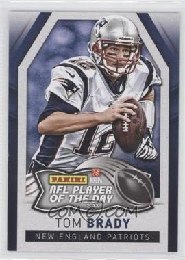 2013 Panini NFL Player of the Day #1 - Tom Brady