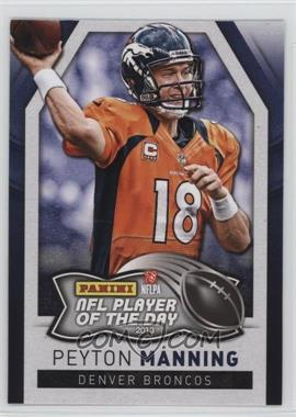 2013 Panini NFL Player of the Day #2 - Peyton Manning