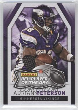 2013 Panini NFL Player of the Day #3 - Adrian Peterson