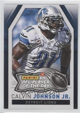 2013 Panini NFL Player of the Day #4 - Calvin Johnson