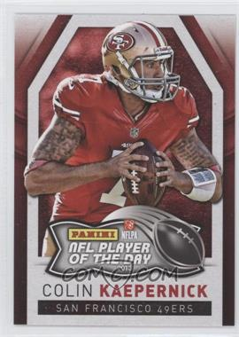 2013 Panini NFL Player of the Day #5 - Colin Kaepernick