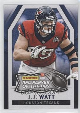 2013 Panini NFL Player of the Day #7 - J.J. Watt