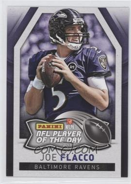 2013 Panini NFL Player of the Day #8 - Joe Flacco