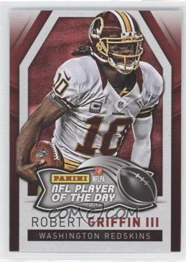 2013 Panini NFL Player of the Day #9 - Robert Griffin III