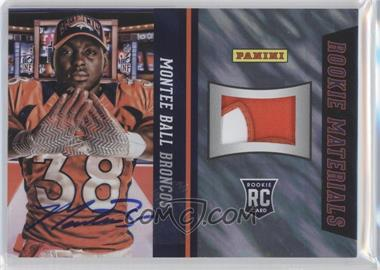 2013 Panini National Convention - Rookie Materials Football Gloves - Lava Flow Signatures [Autographed] #27 - Montee Ball