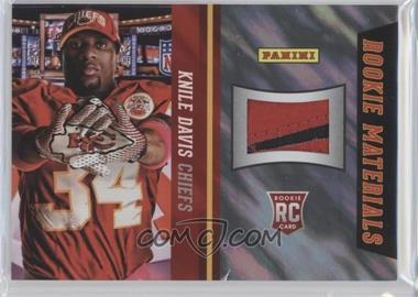 2013 Panini National Convention - Rookie Materials Football Gloves - Lava Flow #18 - Knile Davis