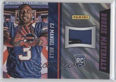 2013 Panini National Convention Rookie Materials Football Gloves Lava Flow #7 - EJ Manuel