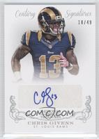 Chris Givens /49