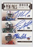 EJ Manuel, Matt Barkley, Mike Glennon, Geno Smith, Landry Jones, Ryan Nassib