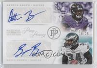 Arthur Brown, Bryce Brown /25