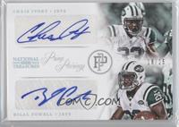 Chris Ivory, Bilal Powell /25