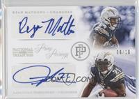 Ryan Mathews, LaDainian Tomlinson /10