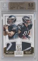 Matt Barkley, Zach Ertz /25 [BGS 9.5]