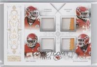 Eric Berry, Derrick Johnson, Dontari Poe, Justin Houston /25